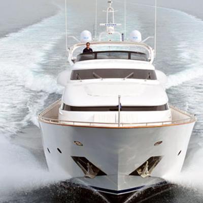 Marnaya Yacht Running Shot