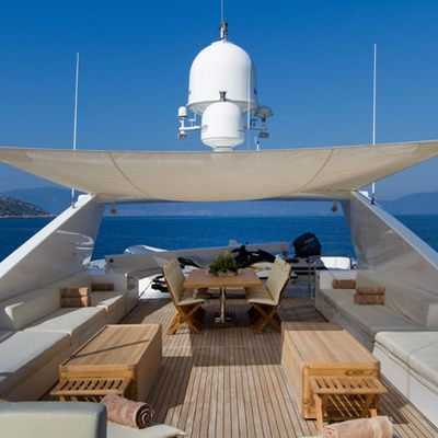 Mabrouk Yacht Sundeck