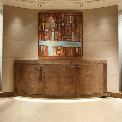 Naia Yacht Hallway - Scuptures & Artwork
