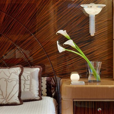 Lady MM Yacht Master Stateroom - Detail