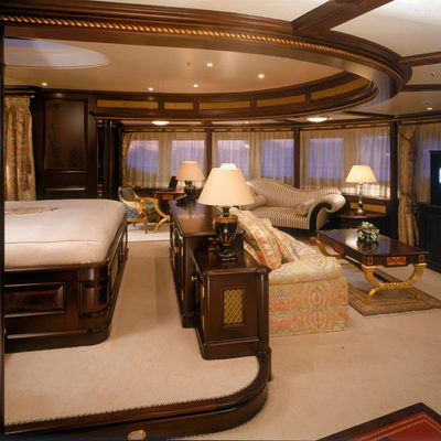 Freedom Yacht Stateroom - Side View