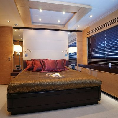 Tatiana I Yacht Brown Guest Stateroom
