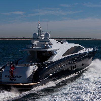 Quantum Yacht Running Shot - Stern