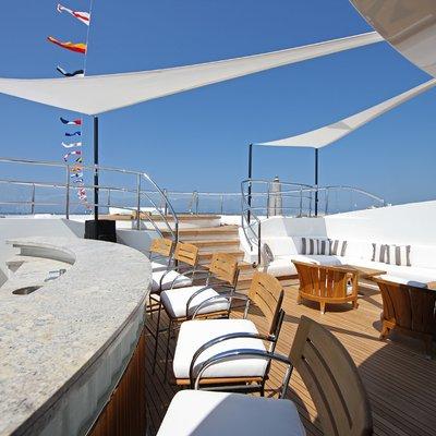 Seanna Yacht Exterior Bar