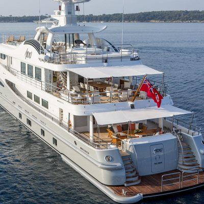 Revelry Yacht Aft View