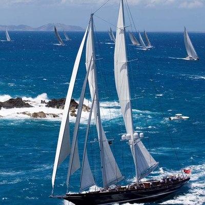 Meteor Yacht Full Sail