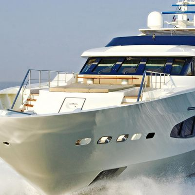 Princess Iolanthe Yacht Front View