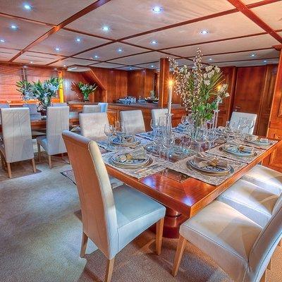 Sanssouci Star Yacht Dining Tables