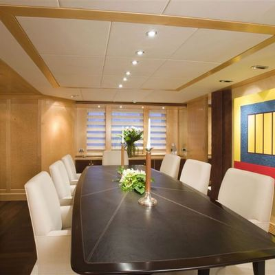 Deep Blue II Yacht Dining Salon