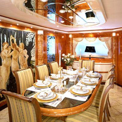 Wheels I Yacht Dining Salon