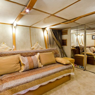 Vela Yacht Guest Stateroom - Converts to Double