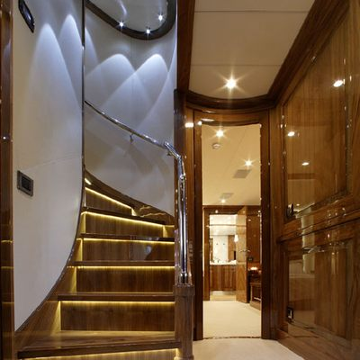 Dragon Yacht Stairs