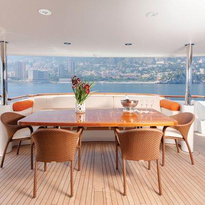 Northlander Yacht Main Deck