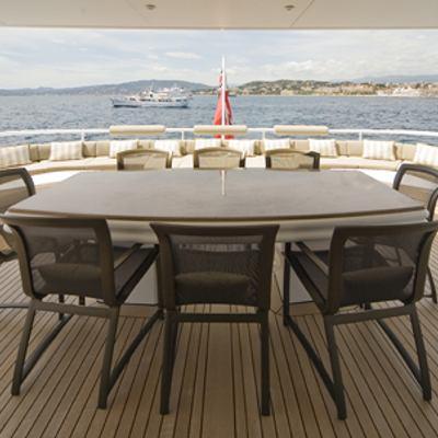 Solaia Yacht Alfresco Dining