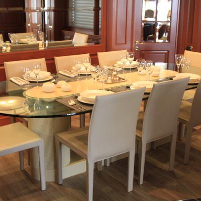 Brunello Yacht Dinner Room