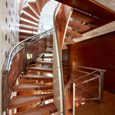 Northlander Yacht Stairs