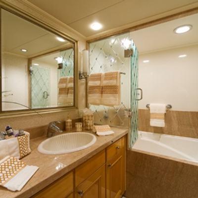 Sojourn Yacht Guest Bath