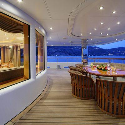 Capri I Yacht Main Deck Aft