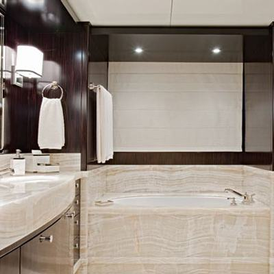 Carpe Diem Yacht VIP King Bathroom