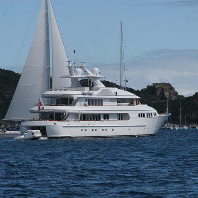 Herculina Yacht Rear View
