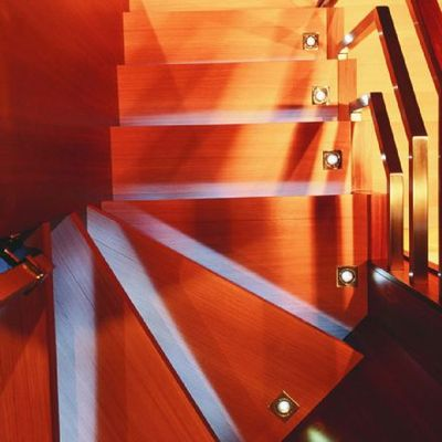 Escape II Yacht Staircase - Detail