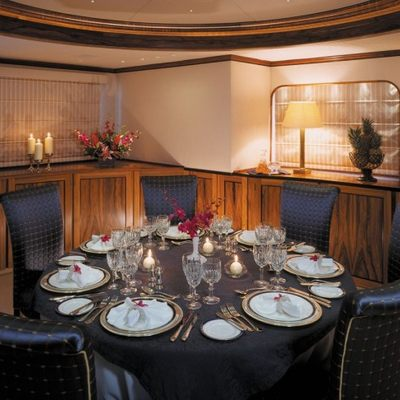 Atlantic Goose Yacht Dining Room