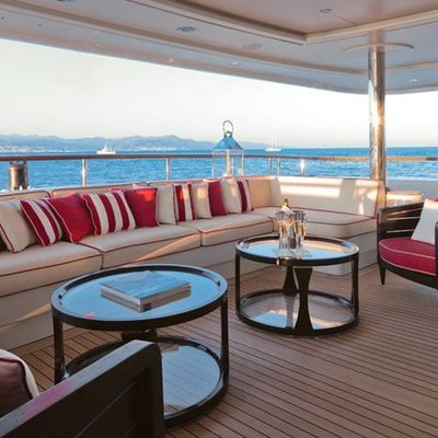 Latitude Yacht Main Aft Deck from Bow