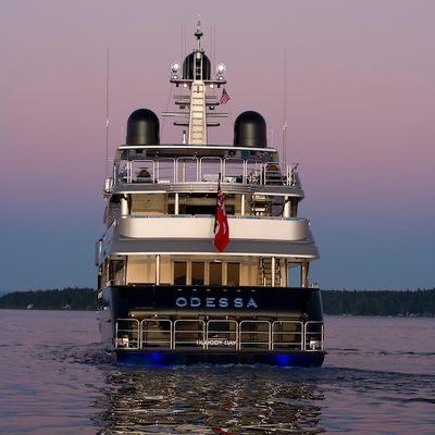 Odessa Yacht Rear View - Dusk