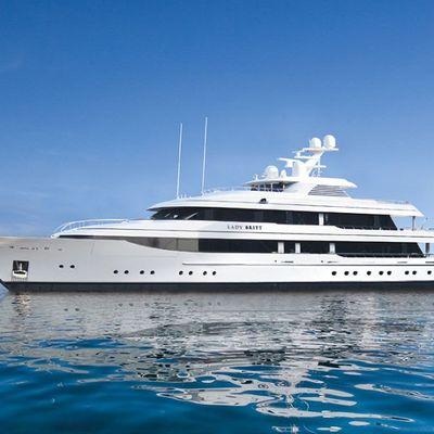 Lady Britt Yacht Profile View