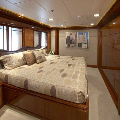Lady Leila Yacht VIP Stateroom