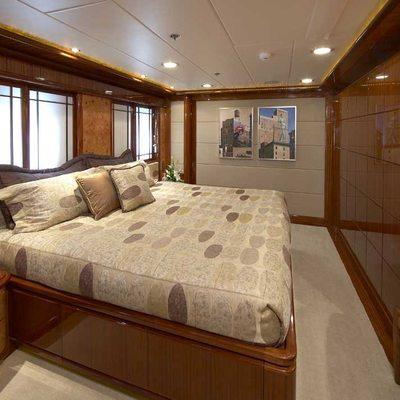Lady Leila Yacht VIP Stateroom