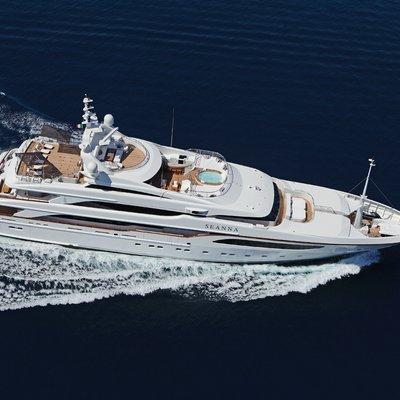 Seanna Yacht Aerial View