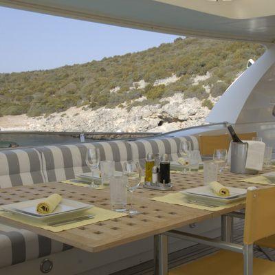 Phoenix Yacht Exterior Dining