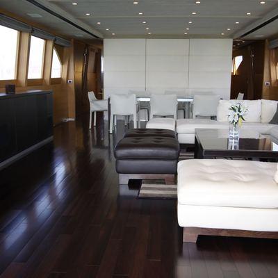 Sheleila Yacht Salon Forward View