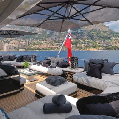 Silver Angel Yacht Sundeck - Seating