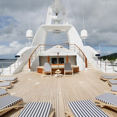 Freedom Jacuzzi Deck - Sunbathing