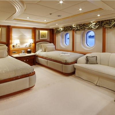 Capri I Yacht Guest Twin Stateroom