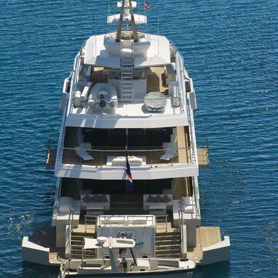 Big Fish Yacht Aft Decks