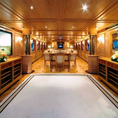 Phocea Yacht View into Study
