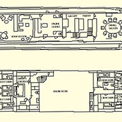 Istros Yacht Deck Plans
