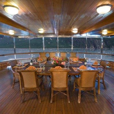 Stargazer Aft Deck Dining
