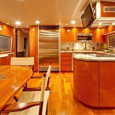 Strega Yacht Galley