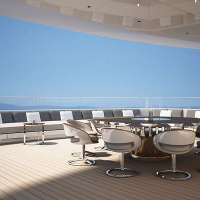 Nautilus Yacht Sofa Seating Fringing The Exterior