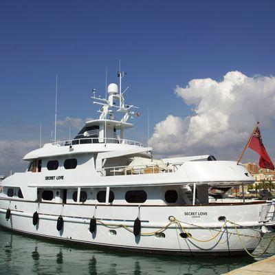 Secret Love Yacht Moored