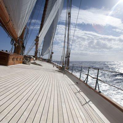 Elena Yacht Deck View