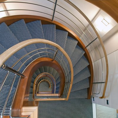 Diamond Yacht Staircase - Looking Down