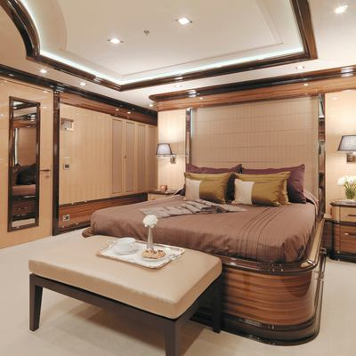 Meamina Yacht Second Double Stateroom - View