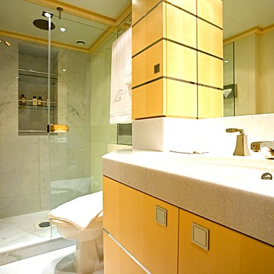 G Force Yacht Guest Bathroom