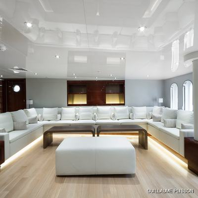 Enigma XK Yacht Main Salon
