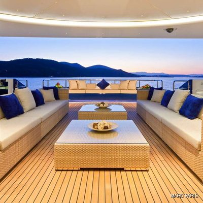 Mary-Jean II Aft Deck